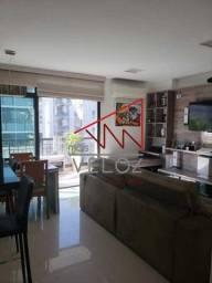 Apartamento à venda com 2 dormitórios em Laranjeiras, Rio de janeiro cod:LAAP22130
