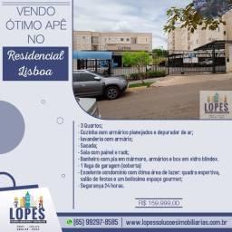 Vendo Ótimo Apartamento no Residencial Lisboa