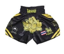 Short Muay thai, exclusivo, Flor de Lotus