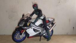 moto miniatura maisto 1/12 17 cm sh figuarts jaspion kamen rider dragon ball