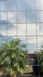 Pele de vidro fachada de vidro duplo temperado bronze