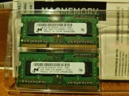 Memória Ram 2 Pentes 2gb (4GB) Ddr3 Pc3-8500 Para Macbook Pro