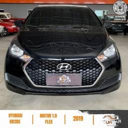 Título do anúncio: Hyundai HB20S - Unique - 1.0 -  2019 - 20.000Km - Preto