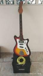 Desapegando! - Guitarra Tonante modelo Fender + Amp Wattsom