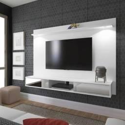 Painel para TV até 47 polegadas branco Usado
