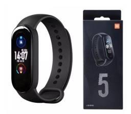 Xiaomi Mi Band 5 Original + 2 Películas - Monitore suas Atividades Físicas