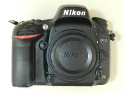 Câmera Profissional Usada Nikon D610