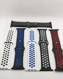 pulseira para smartwatch silicone apple watch iwo t500