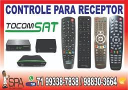 Controle do Aparelho TocomSat Life 2 Acm