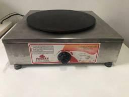 Máquina de crepe francês elétrica 220v Progás