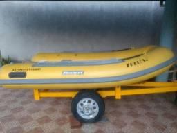 Bote inflável flexboat- SR- 10 - 2012