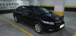 Honda Civic 2012 EXS - Top da Categoria + teto - 2012