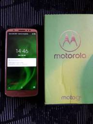 Moto g6 64gigas completo+nota fiscal Ouro Rose