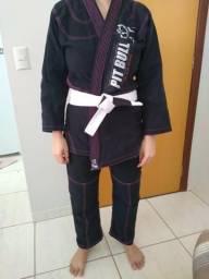 Kimono com faixa