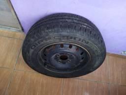 Rodas + pneus aro 13