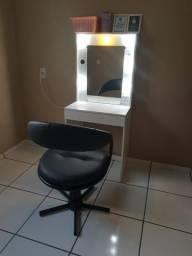 Cadeira com camarim aceito cartão