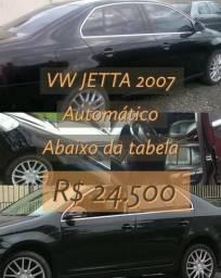 Jetta abaixo da tabela, aceita carro utilitario ou moto - 2007