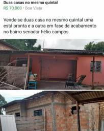 Vendo duas casas no mesmo quintal no bairro senador hélio campos