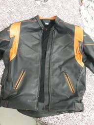 Jaqueta de couro Legítimo motociclista