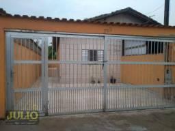 Casa com 1 dormitório para alugar, 70 m² por R$ 700,00/mês - Balneário Samas - Mongaguá/SP