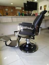 Cadeira para Barbeiro/Cabeleireiro Marca Van de Velde