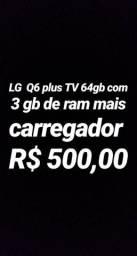 LG Q6 plus TV 64 GB