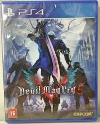 PS4 Devil May Cry DMC 5 novo lacrado