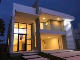 Incrível Casa Moderna no Alphaville Fortaleza - Nova !! Oportunidade !!