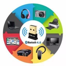Adaptador Bluetooth 4.0 x 12x R$ 5,00 x Entrega Grátis x Garantia 3 m x Para Computador