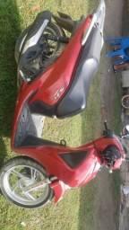 Vendo moto sh 150 d Honda nova quilometragem 13.800 - 2018