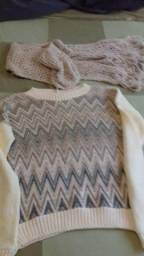 Blusa lã de gramado