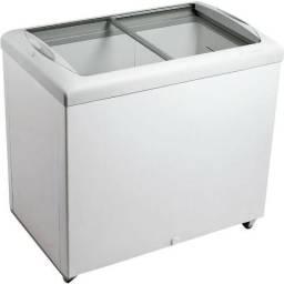 Freezer Horizontal Metalfrio HF30S tampa de vidro para sorvetes e congelados 303 litros 2