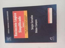 Livro de Raciocínio lógico e matemática