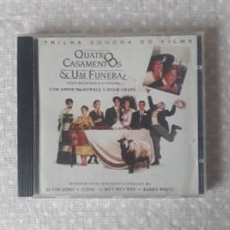CD Trilha Sonora do Filme Quatro Casamentos e um Funeral