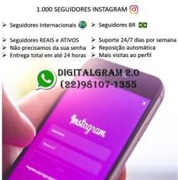 Pacote 1.000 seguidor instagram (R$ 79,90)