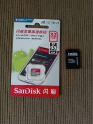 Cartão de memória 32 GB Classe 10