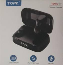 TOPK F22, fone de ouvido sem fio, via bluettooth.
