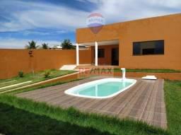 Casa 4 Quartos sendo 2 suítes - Cond. Parque das Árvores - Barra de Jacuípe
