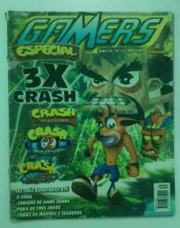 Revista Gamers Especial 31 Crash Cortex Strikes Back 1 2 3