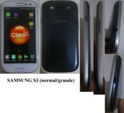 Celular Sony xperia e Samsung S3