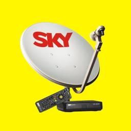 Kit completo sky pré pago