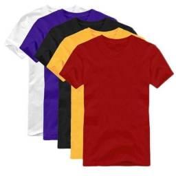 Camisa puro algodão, 3 por R$ 50,00, tipo malwee, taxa de entrega grátis dentro de moc.