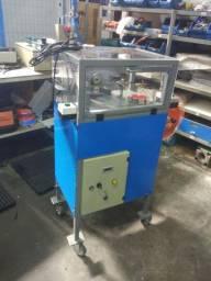 Máquina automática para cortar tubo plástico