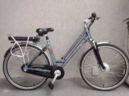 Bicicleta Bike Elétrica Urbana Casual Importada Doywins