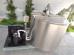 Tanque Resfriamento de Caldas Inoxidável de 800 LITROS Circular Tina Maturação