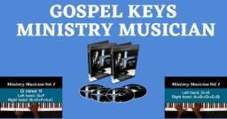 Vídeo Aula Gospelkeys Ministry Musician Vol 1