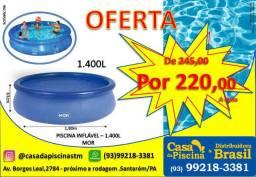 Piscina Inflável 1.400 L