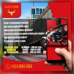 Entregas rápidas ifood (moto boy)