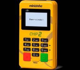 Minizinha chip 2 máquinas de cartão