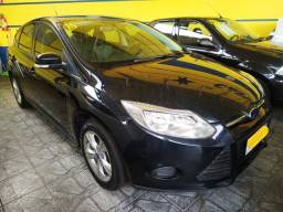 Ford Focus Hatch 1.6 S Manual Preto 2015